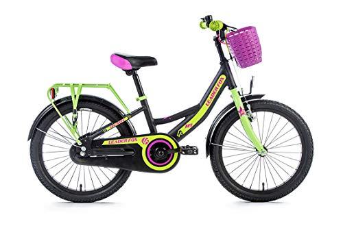 18 Zoll leichtes Aluminium Kinderrad Fahrrad Leader Fox BUSBY Girl MTB Bike RH 25