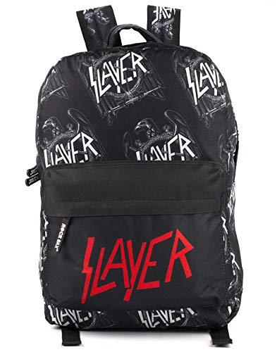 Rock Sax Slayer Wiederholte Schwarz All Over Print Rucksack