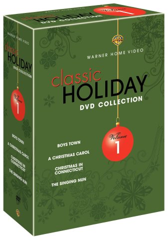 Warner Brothers Classic Holiday Collection, Vol. 1 (Boys Town / A Christmas Carol [1938] / Christmas in Connecticut / The Singing Nun)