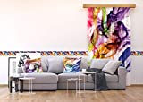 AG Design Wand Sticker, Selbstklebende Folie, Mehrfarbig, 500 x 14 cm - 4