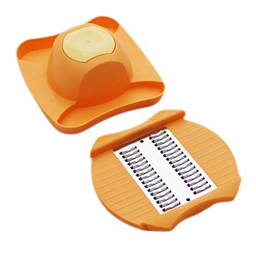 Tupperware Combi Plus - Rallador y mango de repuesto para cortador de verduras, color naranja