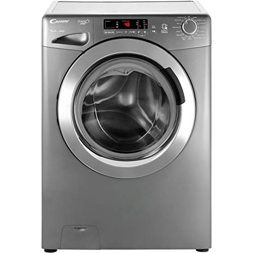 Candy GVS169DC3R A+++ Rated Freestanding Washing Machine - Graphite