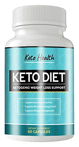KETO Health Diet 60 Capsules - KETOGENIC Weight Loss Support - 1 Month Supply