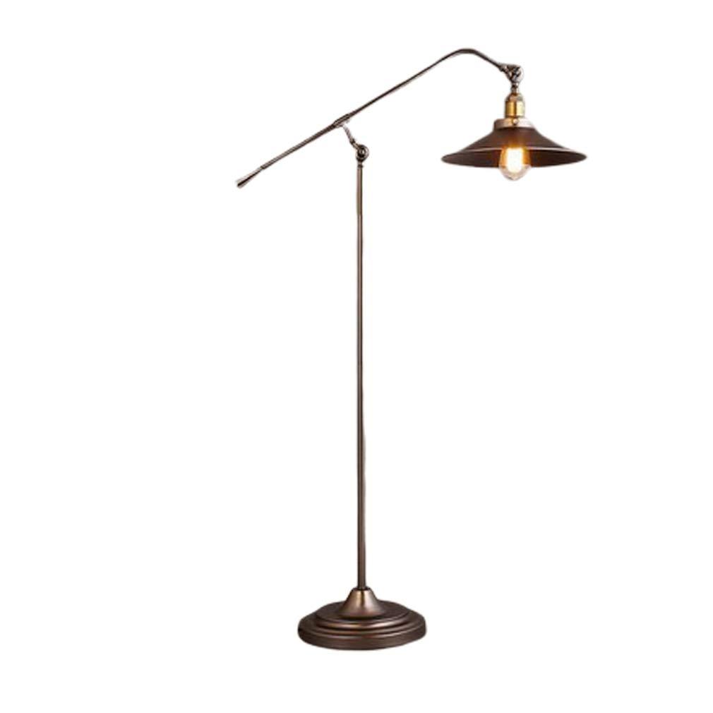 Relaxdays Stehlampe Gelenk Galando Vintage Design Hxbxt 156 X