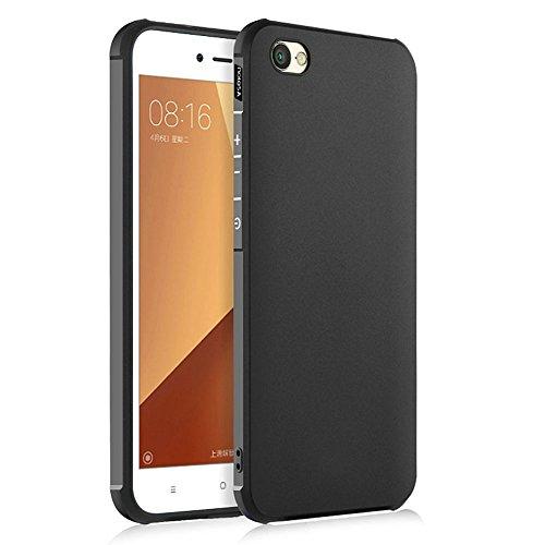 Hevaka Blade Xiaomi Redmi Note 5A Hülle - TPU SchutzHülle Tasche Hülle Cover für Xiaomi Redmi Note 5A - Schwarz