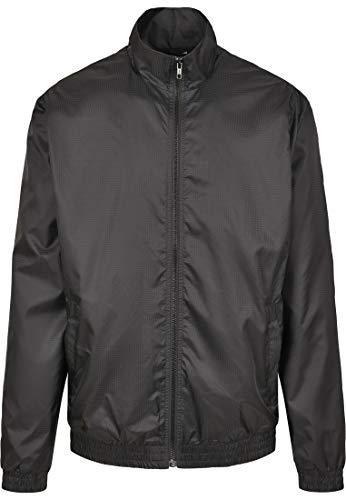 Urban Classics Jacquard Track Jacket Chaqueta Deportiva, Negro (Black 00007), XL para Hombre