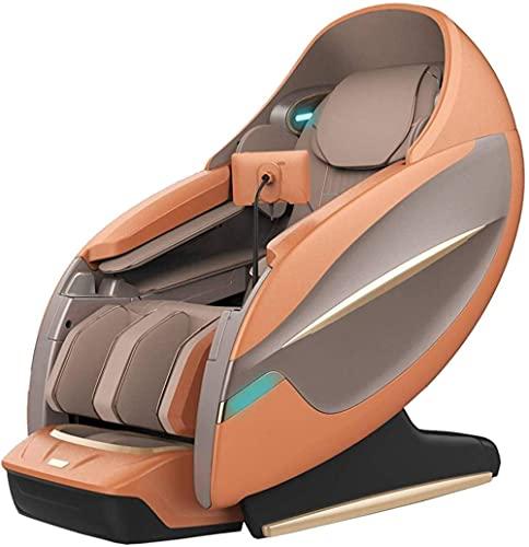 LHMYHJR Ganzkörper-Massage-Stuhl Zero Gravity 4D SL-Spur Shiatsu Dual Electric Linear Recliner Taillenheizung Bluetooth-Lautsprecher C-EIN