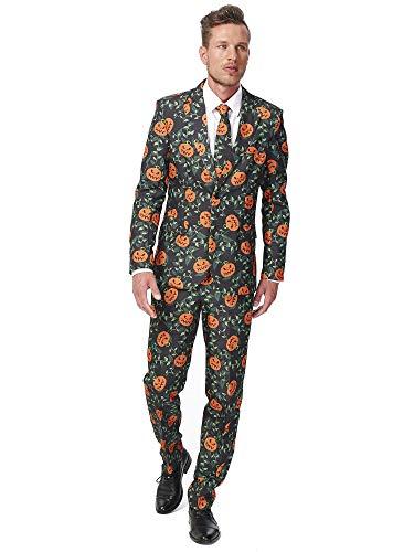 Suitmeister Costume de Carnaval und Halloween pour Homme - Avec Veste, Pantalon et Cravate
