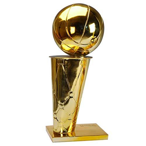 NBA-Meisterschaft Trophy Basketball Trophy Geeignet for NBA Fans, Souvenir, Sammlung, Dekoration, Geschenk, Auszeichnungen for verschiedenes Basketball Spiel (Size : 16 cm/6.3