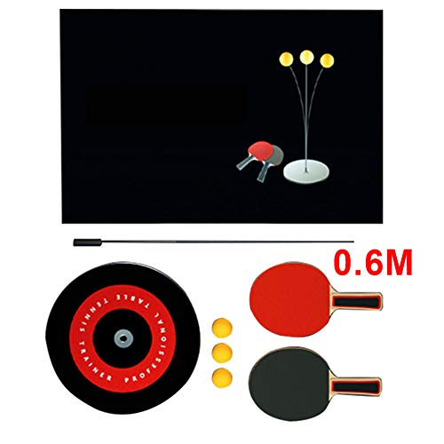 Amazing Deal Zqasales Table Tennis Trainer with Elastic Soft Shaft, Leisure Decompression Sports 2 T...