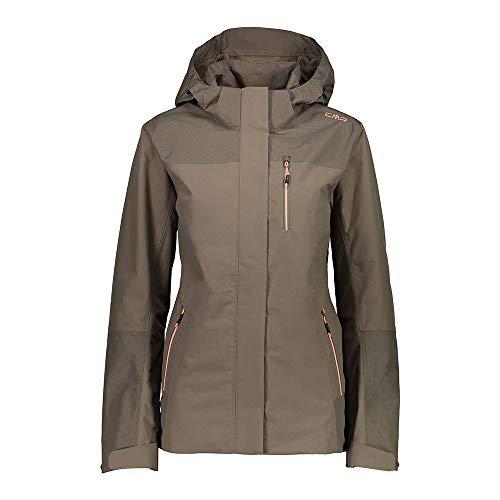 Cmp Woman Jacket Zip Hood XXL