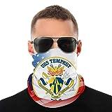 Navy USS Tempest Pc2 Anime Hombres al aire libre Multi Función Variedad Cabeza Bufanda Viento Máscara Cara