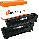 Bubprint Tóner Compatible con HP Q2612A Q2612X - 2er Set