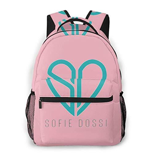 Backpack Rucksack Sofie Dossi Unisex Book Bags Laptop Bookbag Fashion Schoolbag Travel Backpack