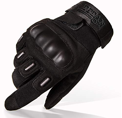TitanOPS Full Finger Hard Knuckle Military Tactical Combat Training Army Shooting Outdoor Gloves