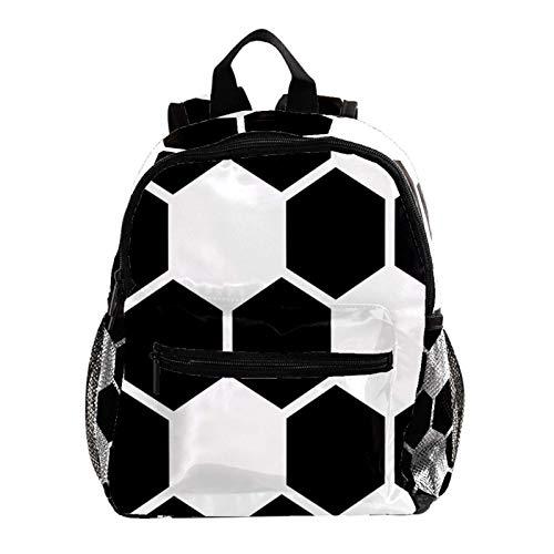 Mochila universitaria, mochila de viaje para ordenador portátil, mochila escolar, bolsa media para estudiantes, mochila vintage casual para niños y niñas, pelota de fútbol en hierba verde