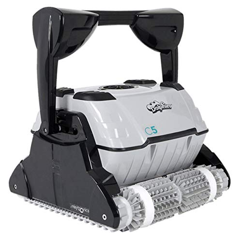 DOLPHIN C5 Commercial Robotic Pool Cleaner with...