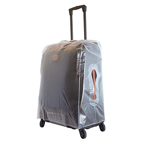 Bric's Protective Life Pelle|Varese 32 Inch XLarge Extended Trip Spinner Suitcase Cover, Clear