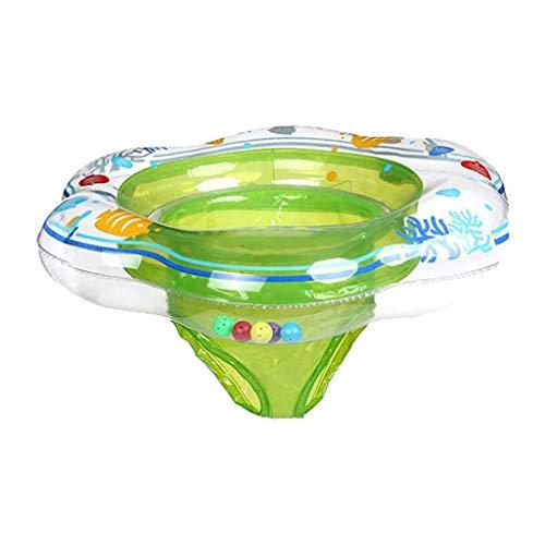 Schwimmreifen Pool Aufblasbarer Ring Schwimmenring Baby Unterarm Ring Sitz Float Kinder Schwimmring Kindersitz (Color : Green)