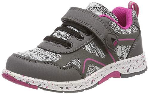 Lurchi Unisex-Kinder LIBORIO Sneaker, Grau (Grey Pink 35), 31 EU