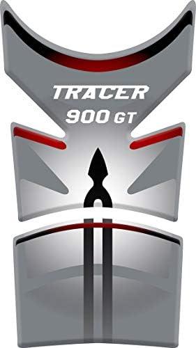Tankpad Motorad Draht Muster Tankschutz Polymer Kompatibel Yamaha Tracer 900 Gt White Red Auto