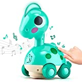 CubicFun Baby Toys 6 to 12 Months Touch & Go Music Light Baby Crawling Toys, Baby Toys 12-18 Months Gifts Toys for 1 Year Old Boy Girl Toy Gifts, Infant Toddler Baby Boy Girl Toys, Baby Boy Girl Gifts