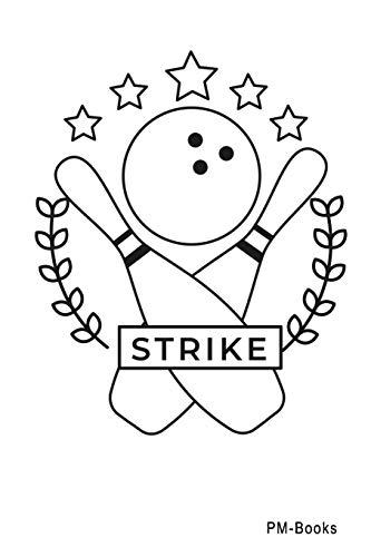 Strike: Blanko A5 Notizbuch oder Heft für Schüler, Studenten und Erwachsene (Logos und Designs, Band 495)