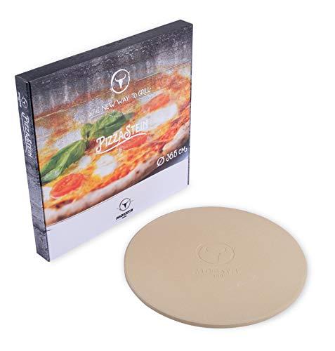 Moesta BBQ pizzasteen nee. 1 ronde, diameter: 36,5 cm of 41 cm