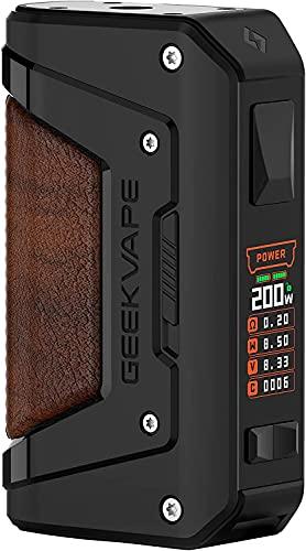 Aegis Legend 200, Geekvape Aegis Legend 2 Mod 200W Alimentato da doppia batteria esterna 18650 Tri-proof Compatibile con Zeus Sub Ohm Tank