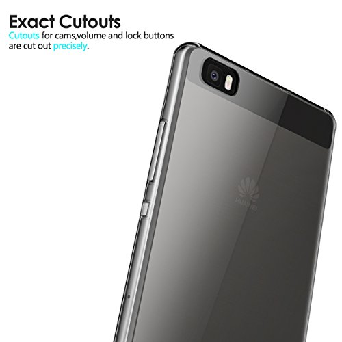 AICEK Huawei P8 Lite Hülle Case, Ultra-Clear P8 Lite Case Silikon Soft TPU Crystal Clear Premium Durchsichtig Handyhülle Schutzhülle Case Backcover Bumper Slimcase für P8 Lite - 4