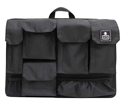 [カバンノナカミ] カバンの中身B4Ver.7.0 バッグインバッグ 【カバンの中身】多機能インナーバッグ ブラック
