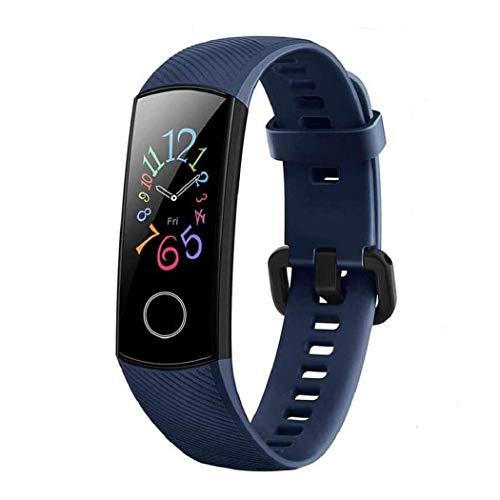 HONOR Band 5 Smart Watch, SpO2 (Saturazione di Ossigeno) e Cardiofrequenzimetro, Braccialetto per attività con Monitor del Sonno, Fitness Tracker Orologio per Uomo,Blu