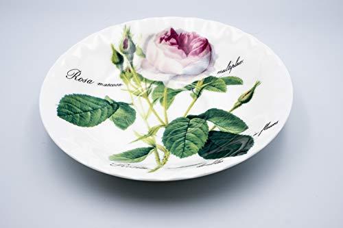 Suppenteller Redoute Rose Roy Kirkham 25cm