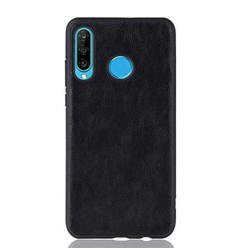INSOLKIDON Compatible con Huawei Honor 20S Funda TPU Suave Contraportada Teléfono Protector Cáscara Ultra Delgado a los arañazos Proteccion Parachoque Creativo Cáscara Suave (Negro)