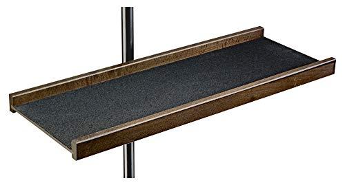 K&M 122a Noten-/Instrumentenablage Nussbaum