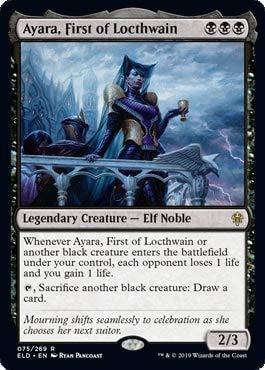 Magic: The Gathering - Ayara, First of Locthwain - Throne of Eldraine