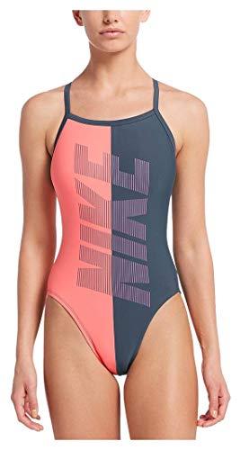 Nike PWF NESS9050 Badeanzug für Damen, Einteiler, 36