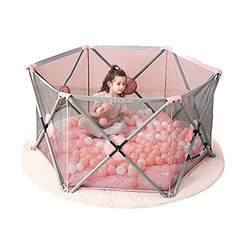 NYDZDM Barrière de sécurité de bébé de barrière de sécurité de Garde d'enfant de Parc d'enfants pour Enfants Pliable