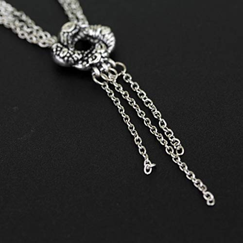 guodong Girl Movie Necklace Algerian Love Knot Silver Plated Necklace