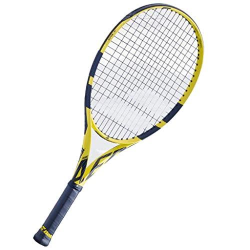 Tennis Raquetas de carbono completo Junior Raquetas deportivas deportivas para deportes, raquetas profesionales fuertes y duraderas (tamaño : 63,5 cm)