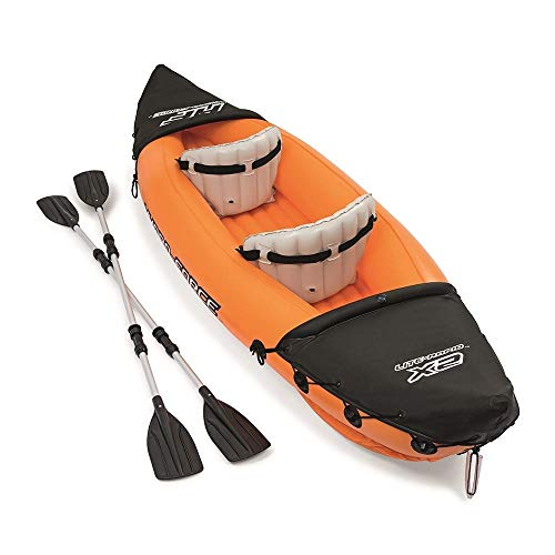 Bestway 65077 - Kayak Hinchable Hydro-Force Lite-Rapid 321x88 cm 2 Pers. con...