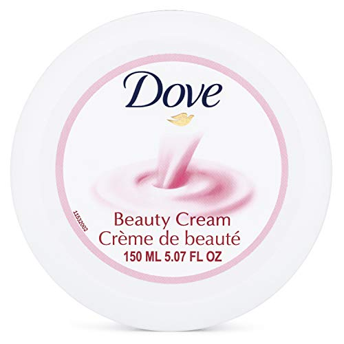 Dove Beauty Cream Pink Jar, 5.07 Ounces (Pack of 3)