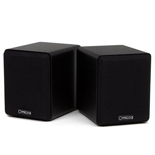 Micca COVO-S Compact 2-Way Bookshelf Speakers (Pair) (Renewed)