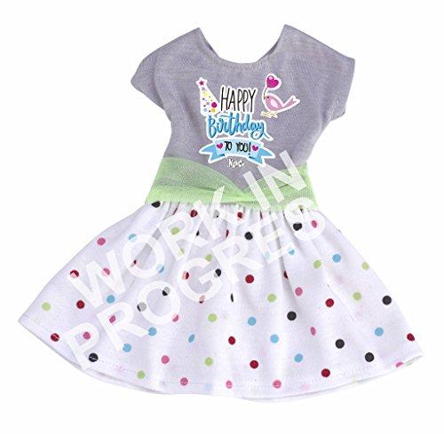 Nancy - Un Día Trendy, vestido de cumpleaños (Famosa