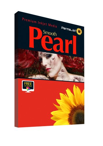 Permajet Smooth Pearl Photo Paper 280g A4 Pack 50