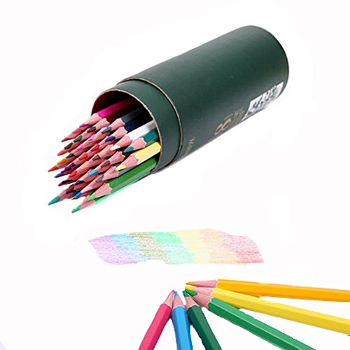 VNDEFUL A Box(12PCS) Assorted Colors Water Soluble Pencil Tracing Tools for Tailor's Sewing Marking And Students Drawing