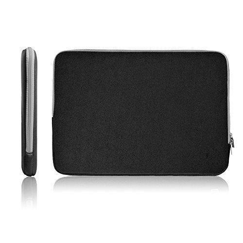 17-17.3 Inch Neoprene Laptop Sleeve Bag Carrying Case/Notebook Computer Case/Tablet Briefcase Carrying Bag/Pouch Skin Cover for Acer/Asus/Dell/Fujitsu/Lenovo/HP/Samsung/Sony Universal Sleeve