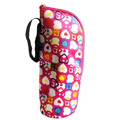 AMOYER Baby-Flaschen-Tragetasche Tragbarer Nursing Flaschenkühler Pouch-wärmer Kühltasche Für Reisen Spaziergänger