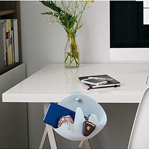 Wffo Home Durable - Cesta de Almacenamiento Multiusos para Cocina con Montaje en Pared - 3 Colores Opcionales