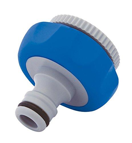 Aqua Control C2422 Adaptador Grifo, Gris Azul, 7x13.5x4 cm